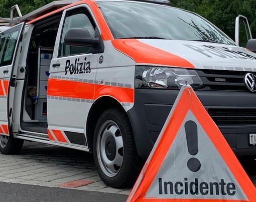 Incidente stradale nel Locarnese: morto un motociclista