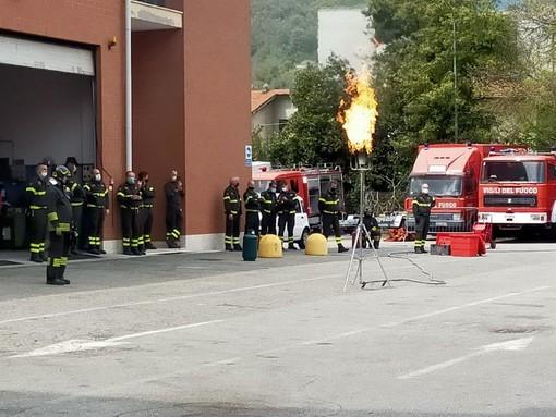 Giornata formativa per i Vigili del fuoco di Verbania FOTO