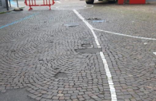 A Omegna entra nel vivo la seconda fase del piano asfalti