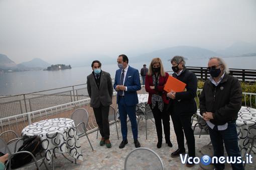 """Cirio promuove l'idea di Zaccherra per la passerella tra le isole: """"Tutto il territorio però deve essere unito"""" FOTO"""