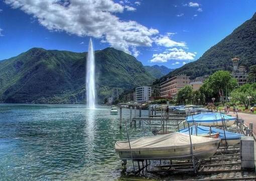 Canton Ticino, il lockdown ha reso l'aria più pulita