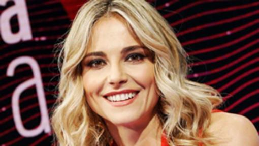 La conduttrice tv Francesca Fialdini all'Auxologico Piancavallo per alcune interviste