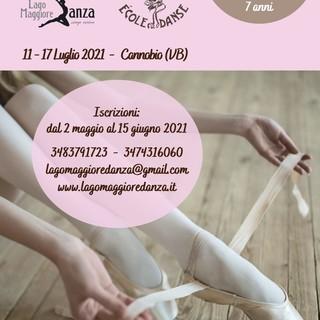 """Cannobio ospita lo stage estivo """"Lago Maggiore Danza"""""""