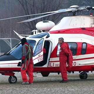 Si perde sopra Colloro e scivola in una scarpata, escursionista salvata dai Vigili del fuoco